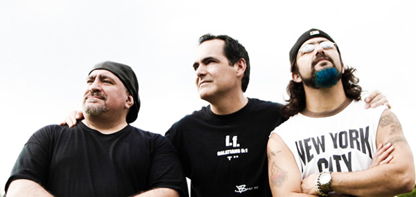 Neal Morse Band featuring Randy George, Neal Morse, and Mike Portnoy