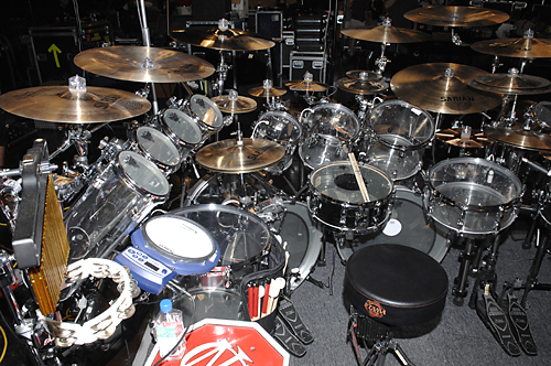 Mike Portnoy Drum Kit