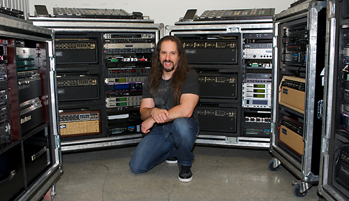 John Petrucci's Mesa/Boogie guitar rigs.