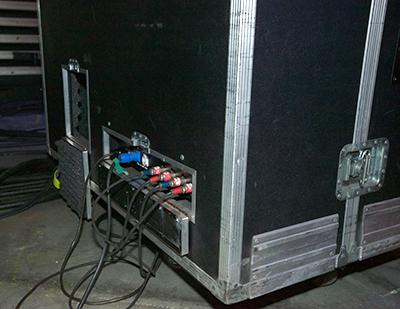David Rosenthal's custom Leslie cabinet