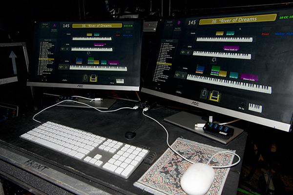 David Rosenthal's keyboard rig explored