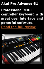 Akai Pro Advance 61 Keyboard Controller
