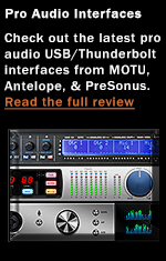 USB/Thunderbolt Audio Interfaces