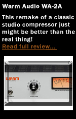 Warm Audio wA-2A Optical Studio Compressor