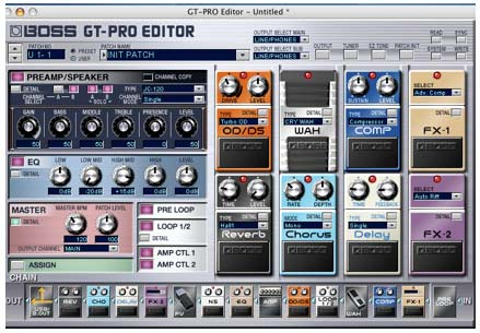MusicPlayers com: Reviews > Guitar & Recording > BOSS GT-Pro