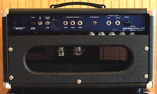The CR Sig Is A Two Channel Amplifier In Which 1 Dedicated To Producing Clean Tones While 2 Lead Handles Higher Gain