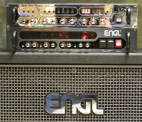 reviews guitars engl e580 midi tube preamp and tube power amp e850 100. Black Bedroom Furniture Sets. Home Design Ideas