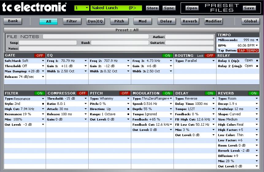 Musicplayers Com Reviews Gt Guitars Gt Tc Electronic G Major 2
