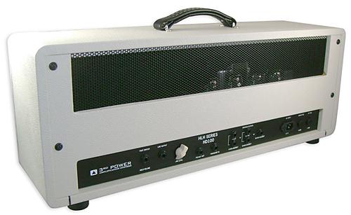 3rd Power HD100 Guitar Amplifier Rear View