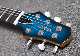 Carvin CT624 California Carved Top Electric Guitar Headstock