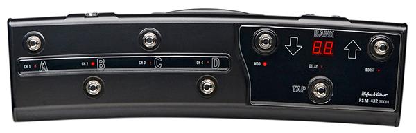 Hughes & Kettner FSM-432 MIDI footswitch