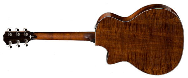 Taylor 614CE rear view.