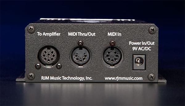 RJM Mini Amp Gizmo rear view