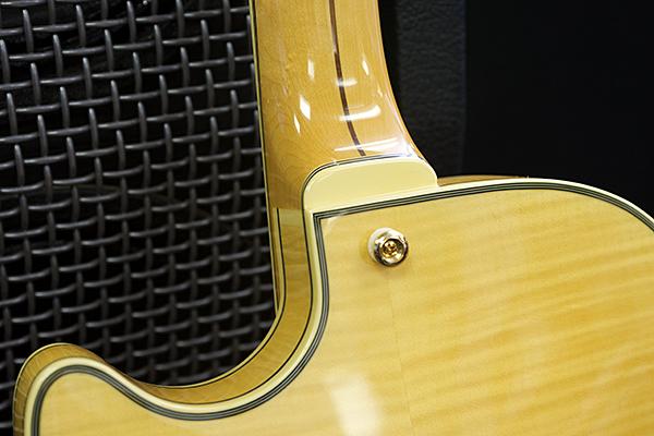 D'Angelico EX-SS neck heel