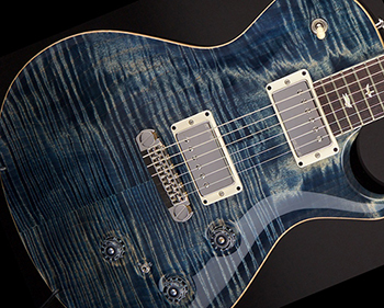 PRS P245 with blue 10 Top quilted maple top