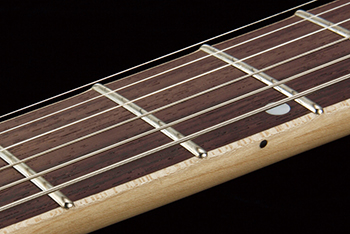 Ibanez Premium rolled fret edges