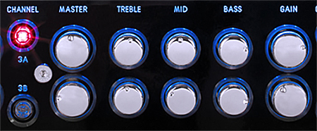 Hughes & Kettner Triamp Mark 3 controls