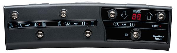 Hughes & Kettner TSM-432 MIDI Foot Controller