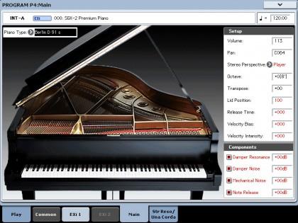 Korg SGX-2 Piano