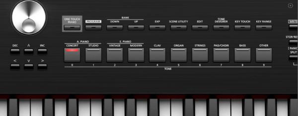 Roland RD-200 Tones