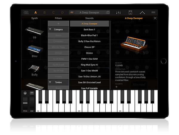 Syntronik for iPad