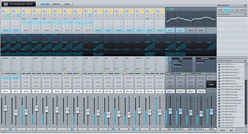 PreSonus Virtual Studiolive: Universal Control