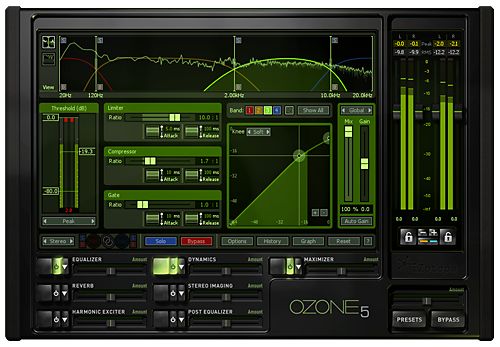 MusicPlayers com: Reviews > Recording > iZotope Ozone 5 Mastering