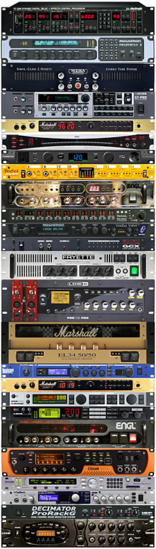 Lots of great guitar rack gear!