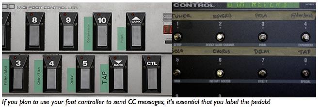 Racks 201: MIDI Foot Controllers – MusicPlayers com