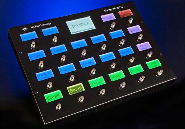RJM Music Technology Mastermind GT MIDI Foot Controller