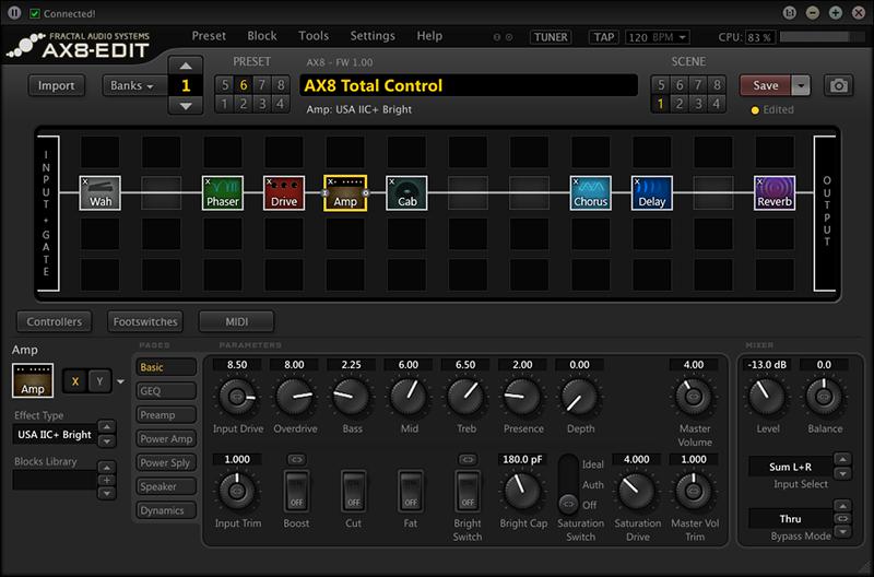 Fractal Audio AX8, Line 6 Helix Floor, and HeadRush