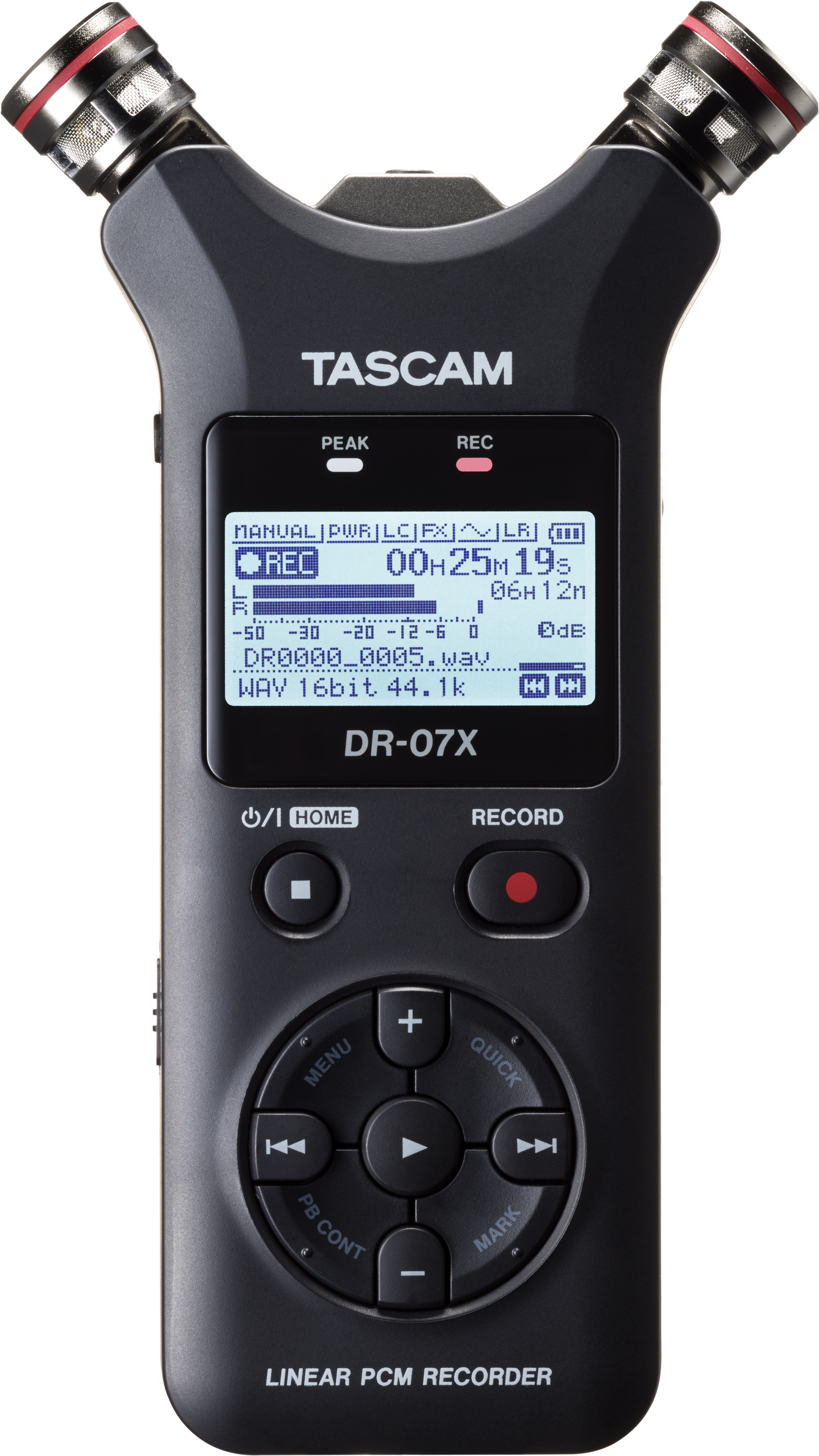 tascam introduces next generation dr x series digital audio recorder and usb audio interface. Black Bedroom Furniture Sets. Home Design Ideas