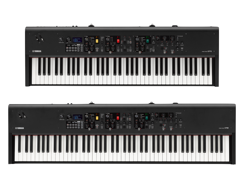 New Yamaha CP73 and CP88 Stage Pianos – MusicPlayers com