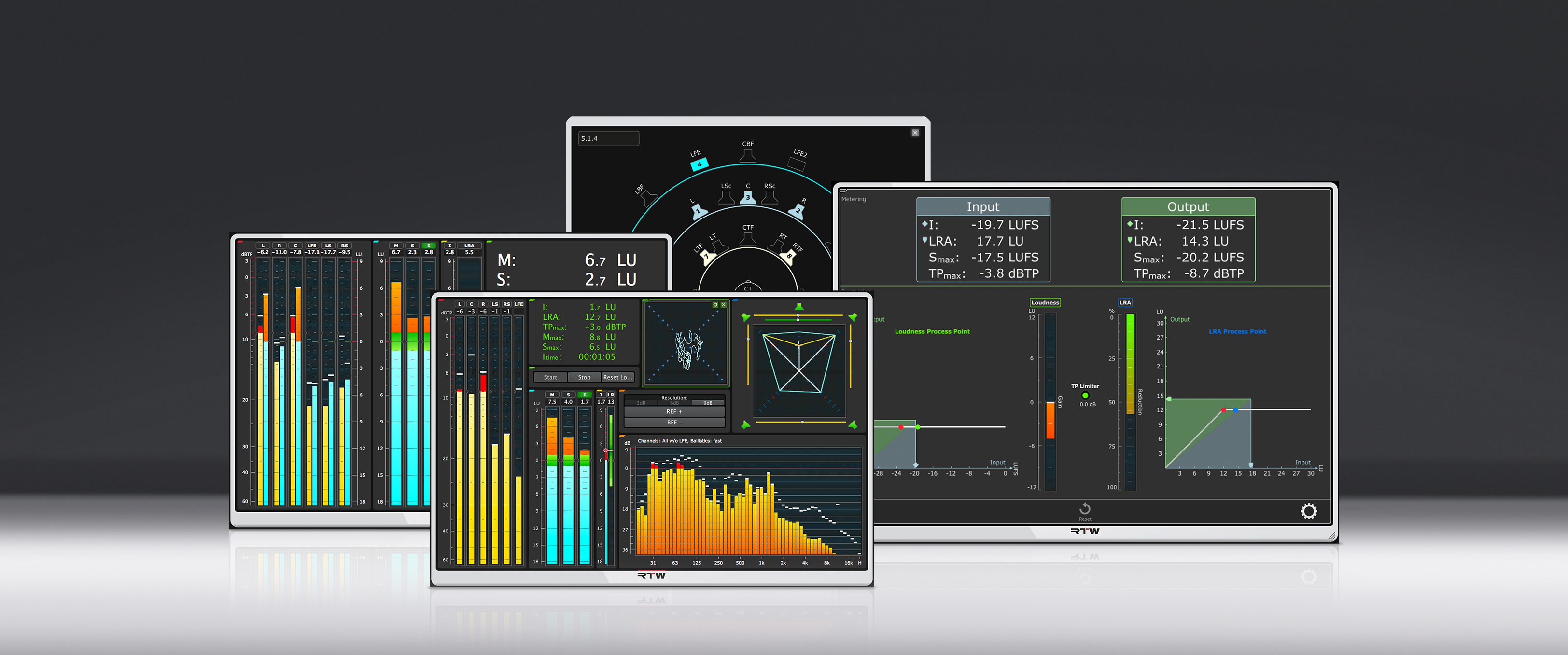 RTW Updates Plug-in Suites and Introduces New Stereo-Only