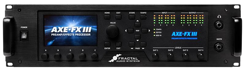 Fractal Audio Axe-Fx III Preamp/Effects Processor