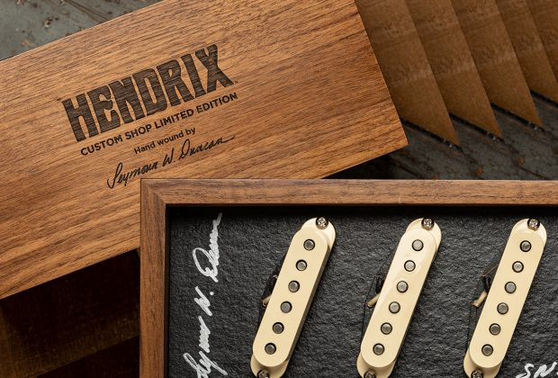 Seymour Duncan Jimi Hendrix Signature Strat Neck//Middle Pickup White