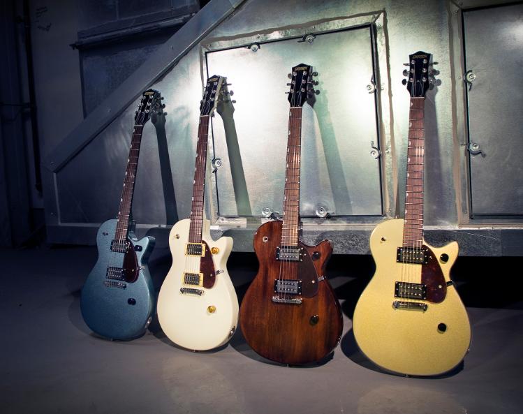2 No Logo KNOBS NICKEL Guitar Knobs TWO GRETSCH Style Set-Screw