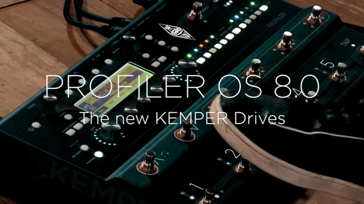 The new Kemper Drives - Officially approved and now released with PROFILER  OS 8.0.5 – MusicPlayers.com